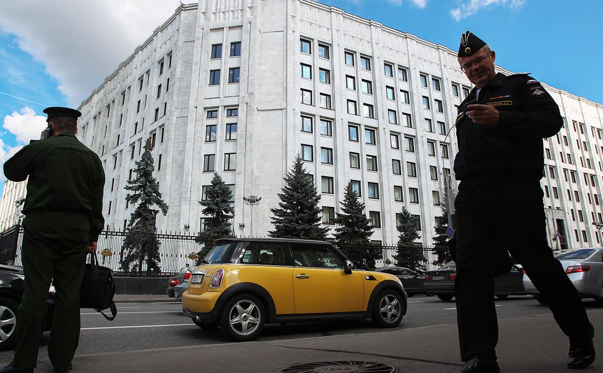 ЗданиеМинистерства обороны РФ
