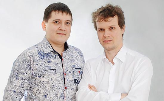 Максим Владыкин (слева) и Николай Прайс основатели компании Key Captcha