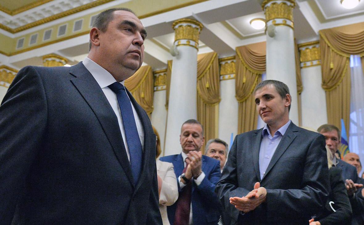 Игорь Плотницкий (слева)
