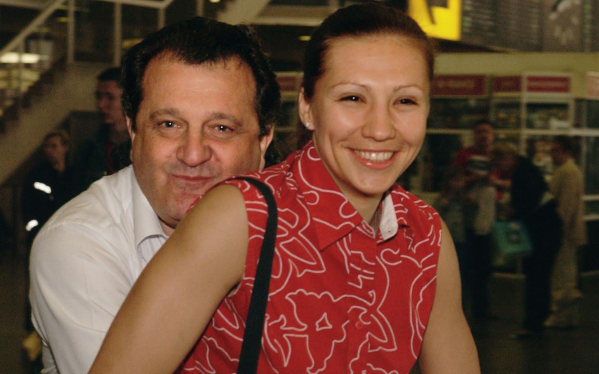 Баскетболистка Анна Архипова-фон Калманович с мужем Шабтаем Калмановичем