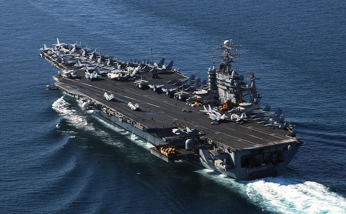 Авианосец ВМС США USS Theodore Roosevelt