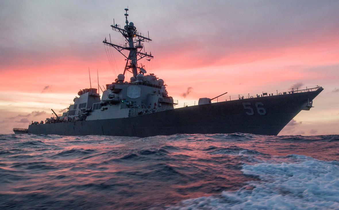 Эсминец ВМС США «Джон С. Маккейн»