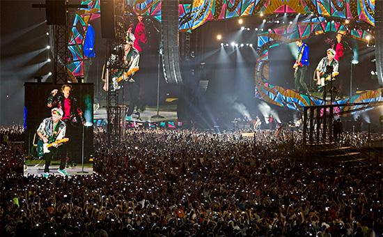 ВыступлениеThe Rolling Stones в Гаване