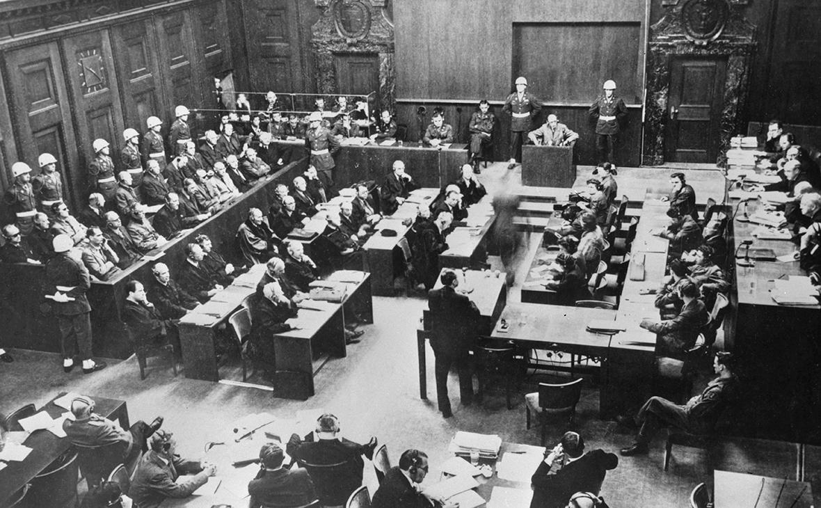 Нюрнбергский трибунал,1945 год