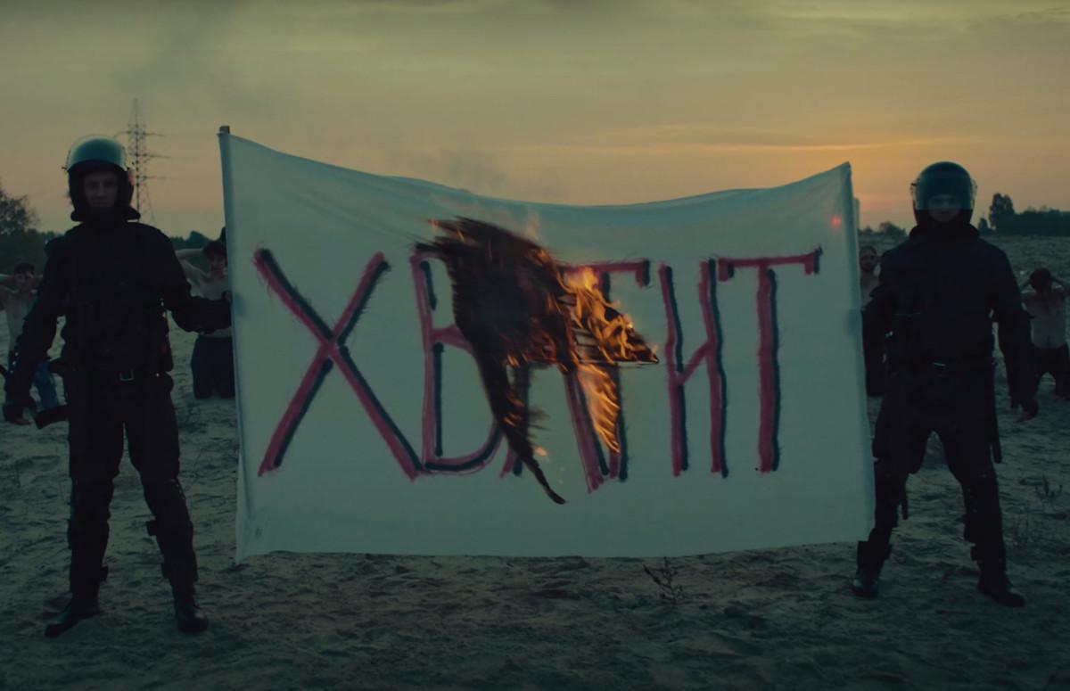 Кадр из клипа «Выходи гулять»