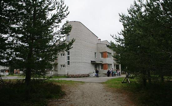 «Парк-отель «Сямозеро» вПряжинском районе, республика Карелия. 19 июня 2016 года