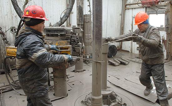 На буровой Ванкорского нефтяного месторождения ОАО НК «Роснефть», 2007 год