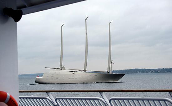 Парусная яхта «А»