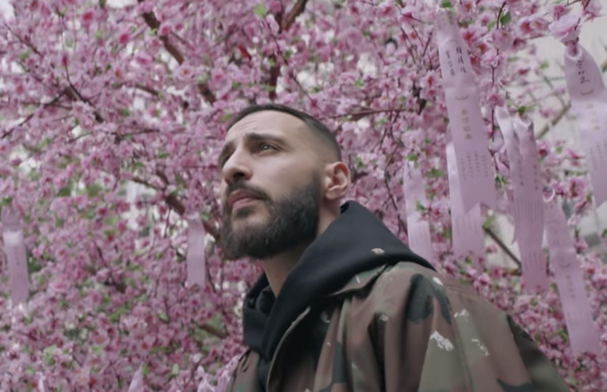 Кадр из клипа «Дорога»