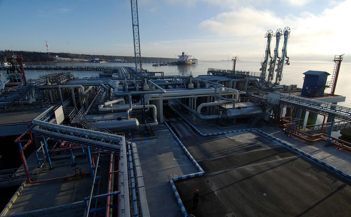 Морской нефтеналивной порт «Приморск»