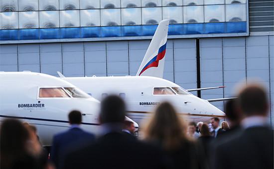 Самолеты Bombardier наодиннадцатой международной выставке деловой авиации Jet Expo 2016