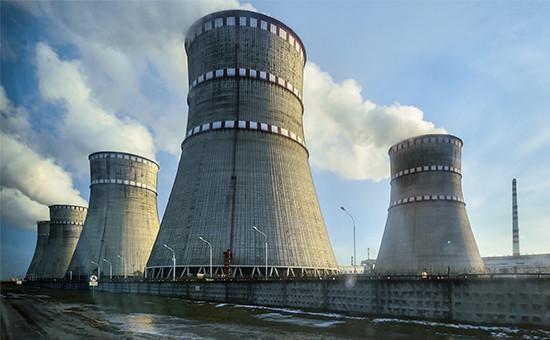 Ровенская атомная электростанция вКузнецовске, Украина