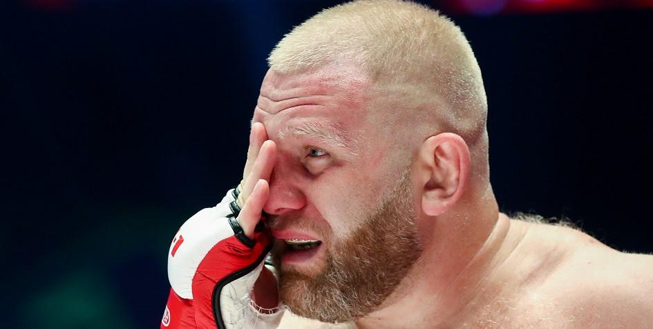 Российский боец MMA Сергей Харитонов