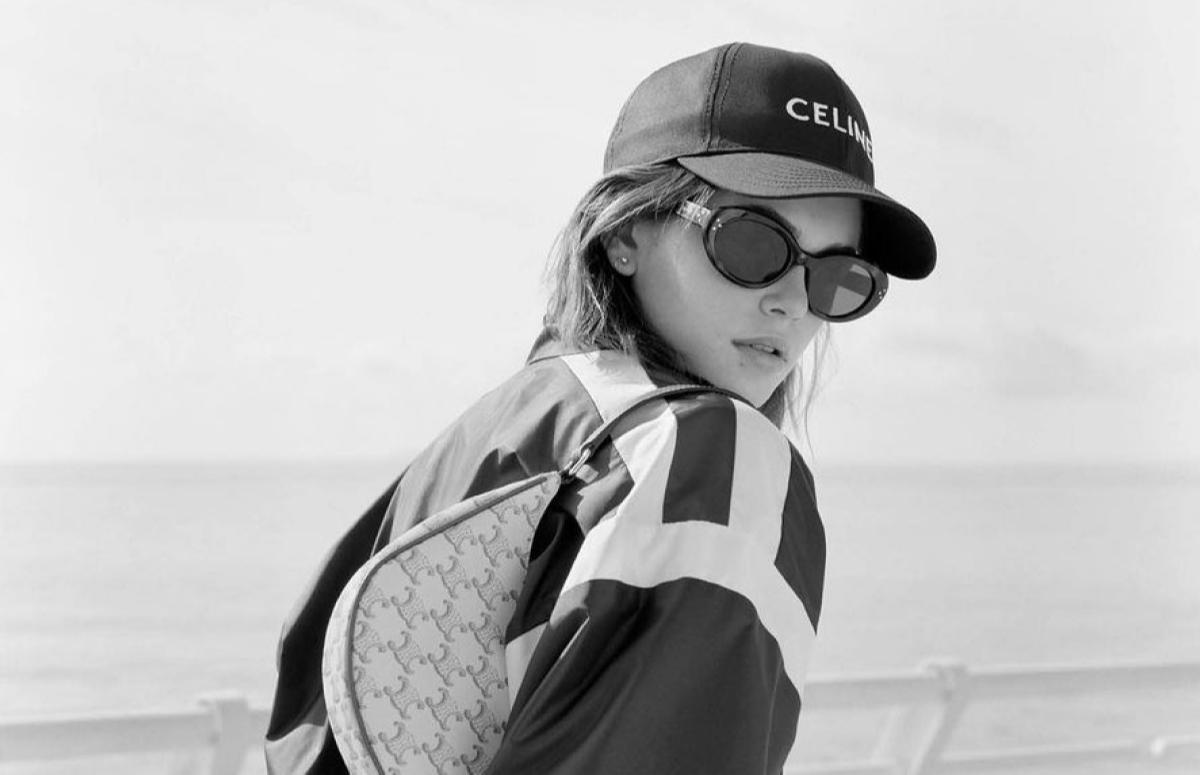 Кайя Гербер в рекламной кампании Celine