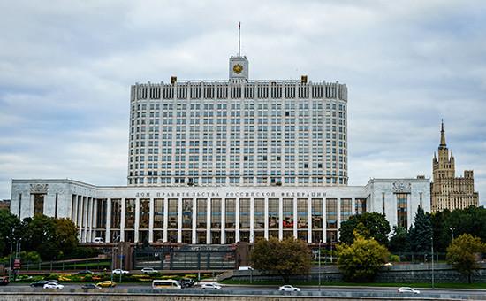 Дом правительства России вМоскве