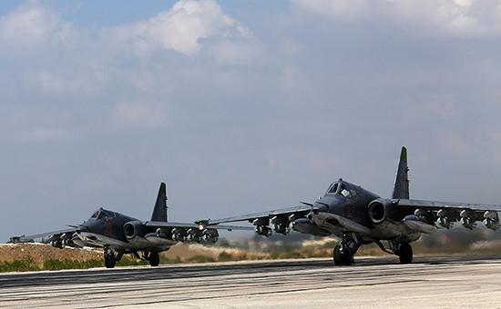 Российская авиационная группа, размещенная в Сирии