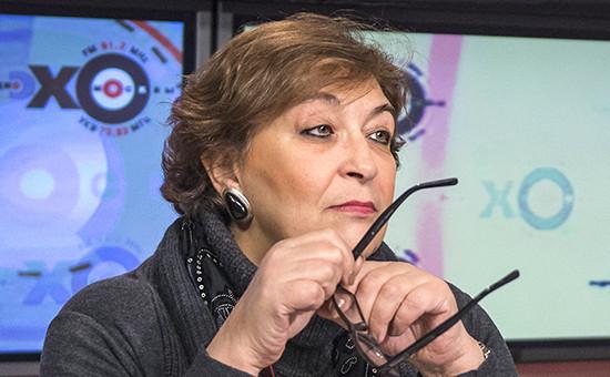 Главный редактор The New Times Евгения Альбац