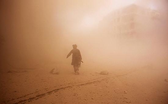 Военные действия в Сирии. Архивное фото