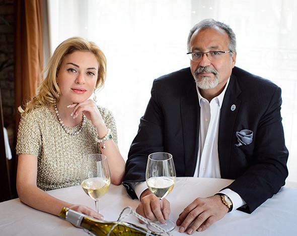 Фото: Юлия Евдокимова и Меди Дусс в La Maree