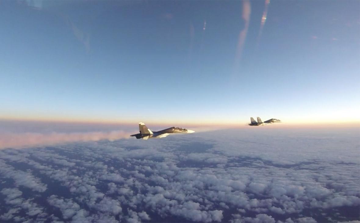 Российские самолеты Су-30