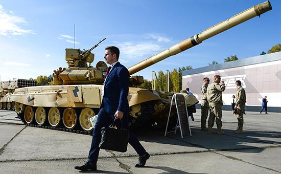 Танк Т-72 на10-й международной выставке вооружений Russia Arms Expo 2015