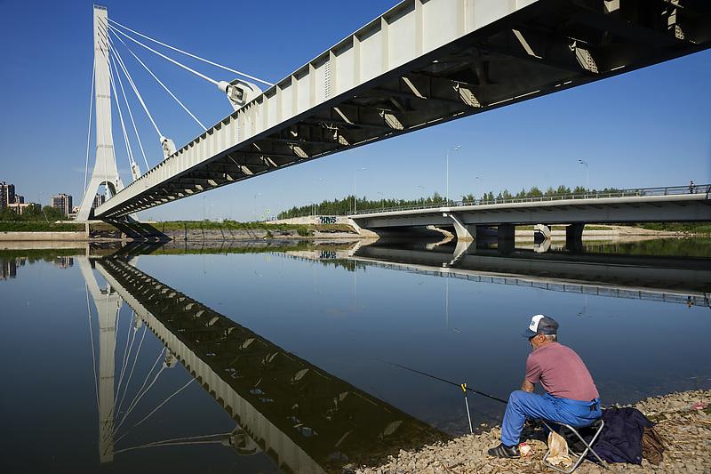 Вантовый мост через Дудергофский канал