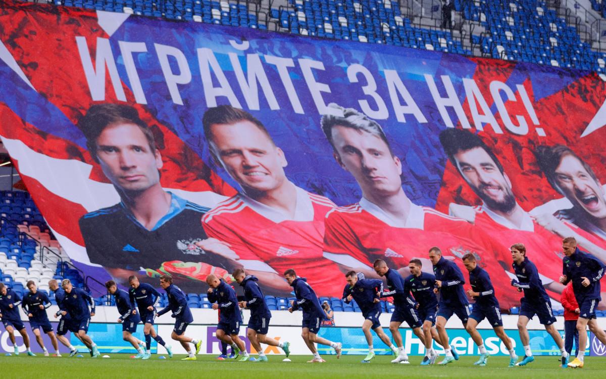 Фото: Игроки сборной России (rfs.ru)