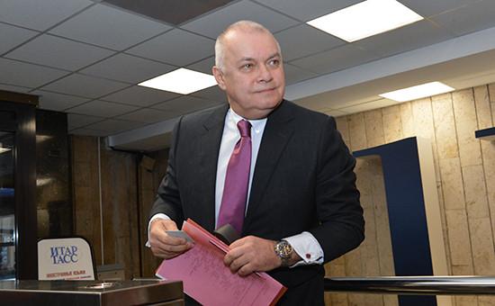 Глава МИА «Россия сегодня» Дмитрий Киселев
