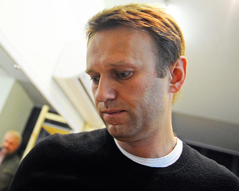 Лидер Партии прогресса Алексей Навальный