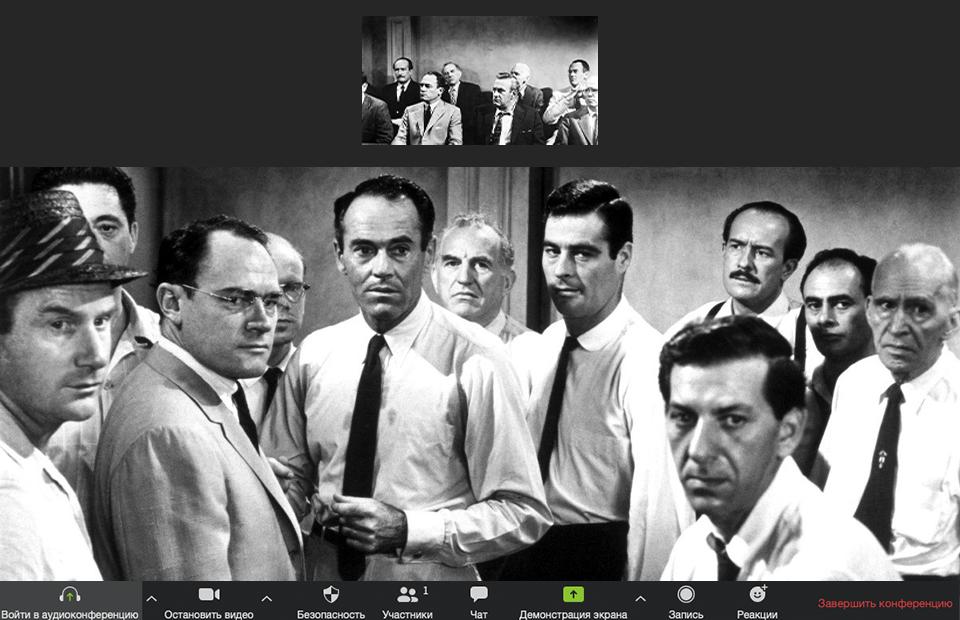 Кадры из фильма «12 разгневанных мужчин»