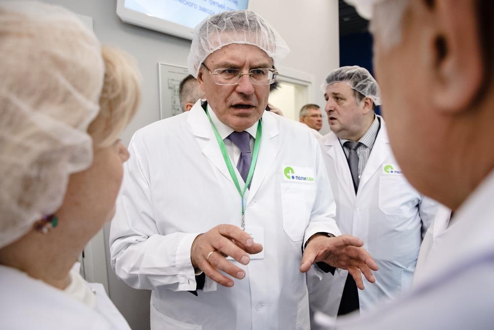 Генеральный директор НТФФ «Полисан» Александр Борисов
