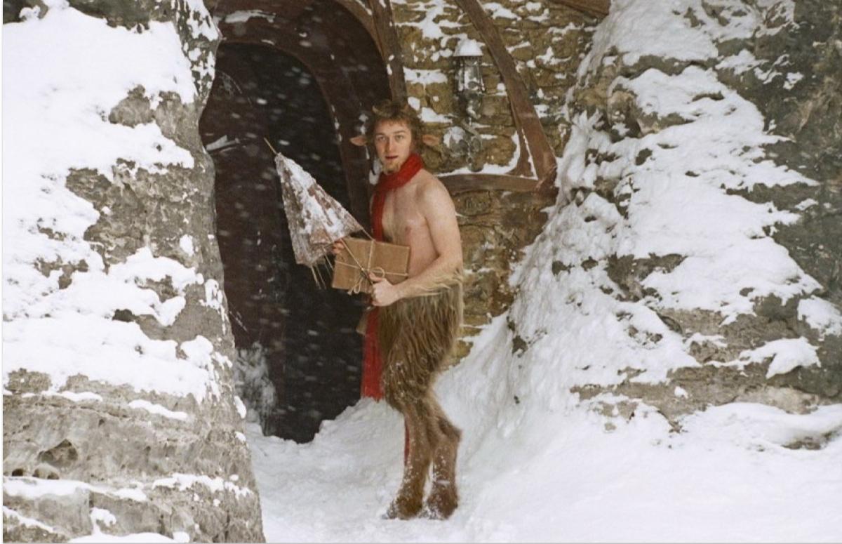 Кадр из фильма «Хроники Нарнии: Лев, Колдунья и платяной шкаф»