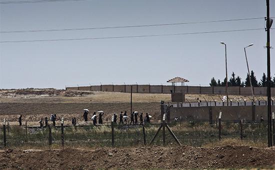 Город Этт-Телль эль Абьяд. 16 июня 2015 года