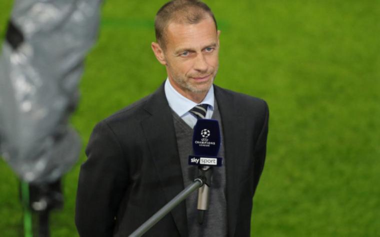 Фото: Президент УЕФА Александер Чеферин (Фото: Global Look Press)