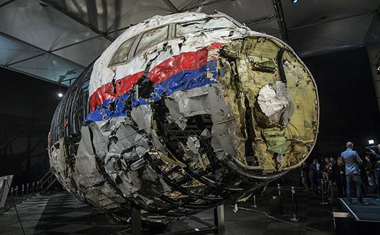 Восстановленный фюзеляжBoeing 777