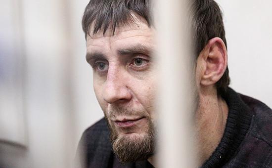Заур Дадаев, подозреваемый в убийстве политика Бориса Немцова
