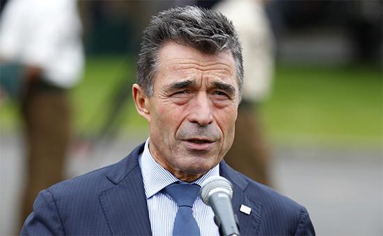 Бывший генсекретарь НАТО, внештатный советник Петра Порошенко Андерс Фог Расмуссен