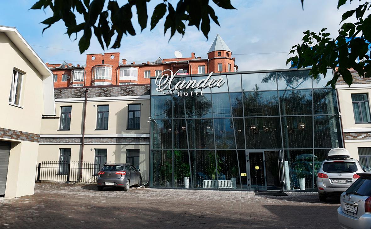 Гостиница Xander в Томске, где останавливался Алексей Навальный во время своего визита в город
