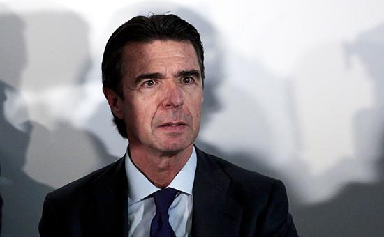 Министр индустрии, промышленности итуризма Испании Хосе Мануэль Сория
