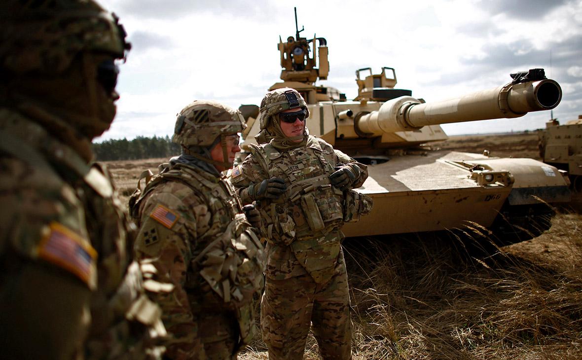 Солдаты армии США в Польше