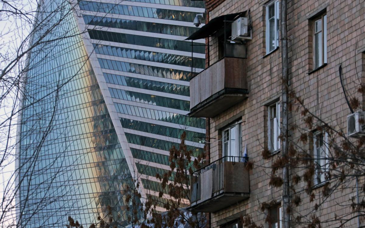 Жилая застройка Пресненского района Москвы