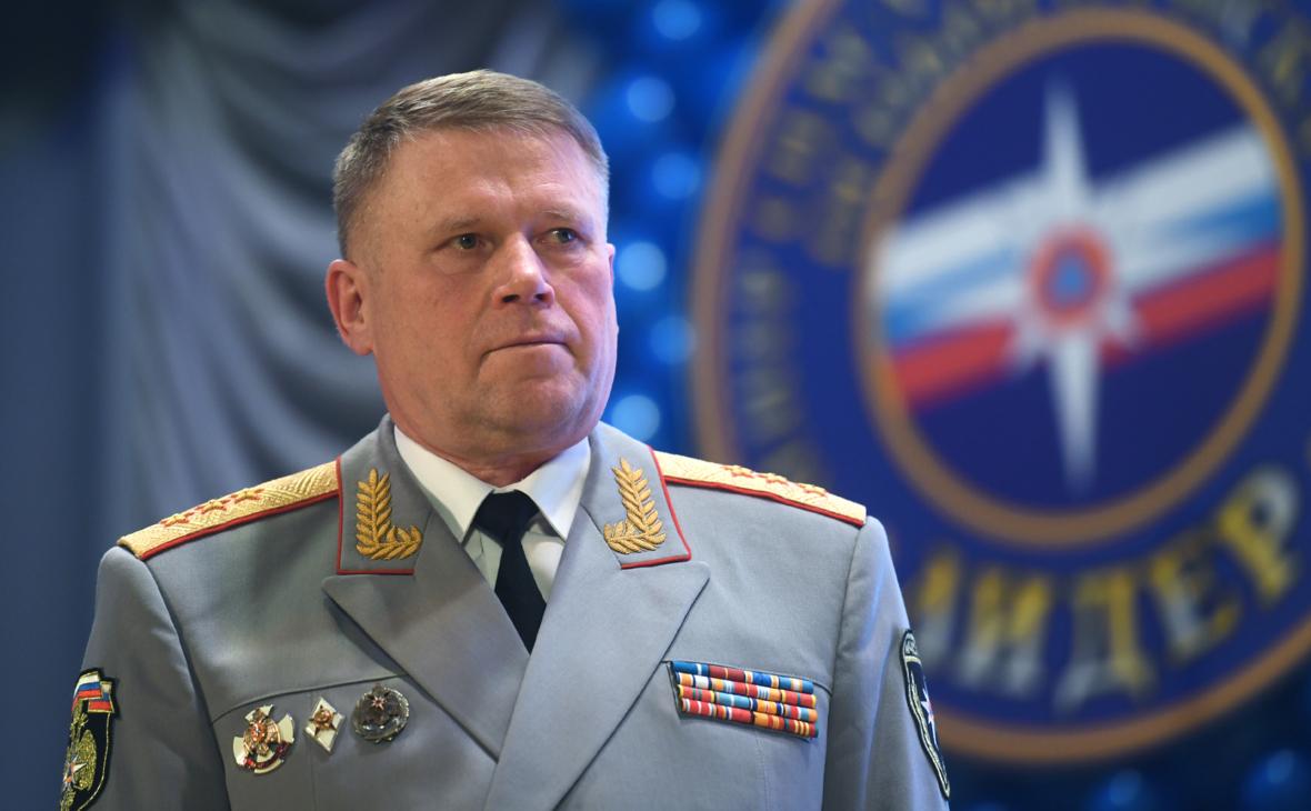 Путин уволил заместителя главы МЧС Барышева