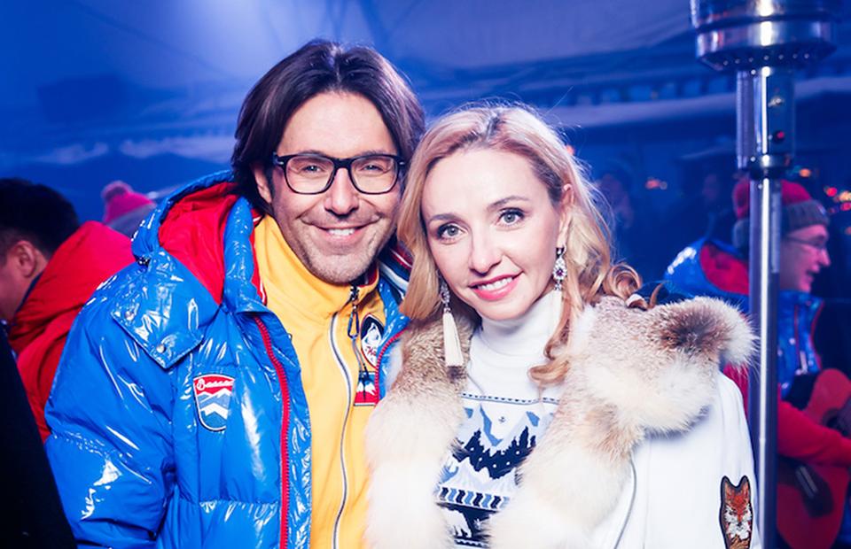 Андрей Малахов и Татьяна Навка