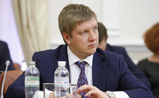 Глава НАК «Нафтогаз Украины» Андрей Коболев