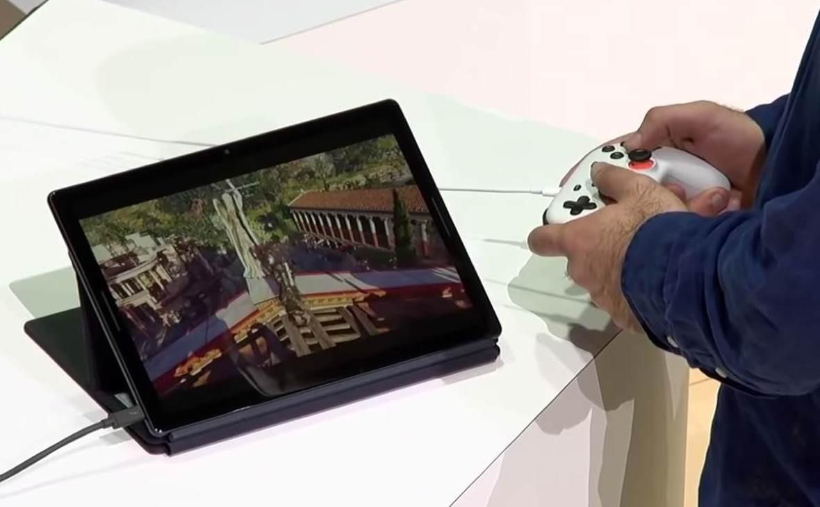 Фото: скриншот из презентации Google Stadia