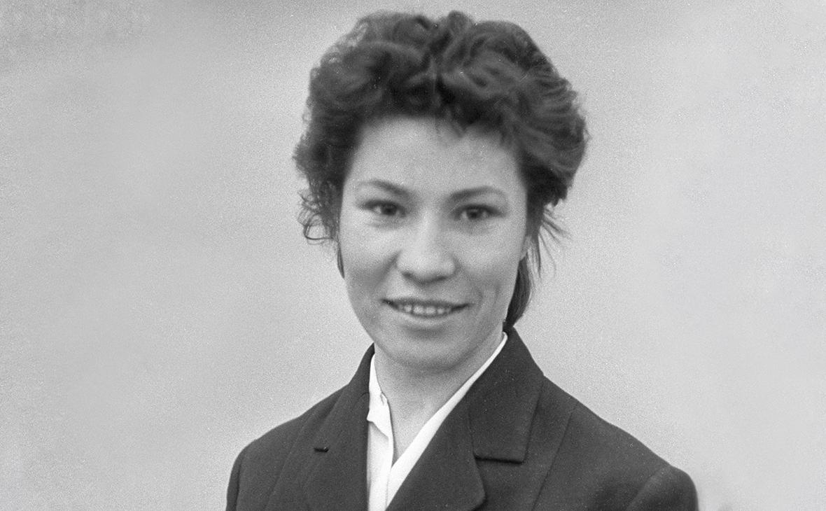 Клара Гусева. 1960 год