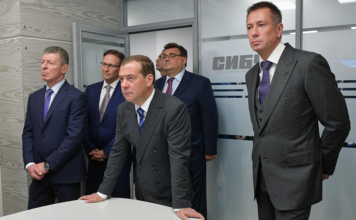 Дмитрий Козак, Дмитрий Медведев и Дмитрий Конов