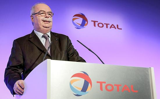 Президент французского энергетического концерна Кристоф де Маржери