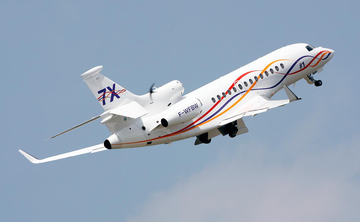 Бизнес-джет Dassault Falcon 7X