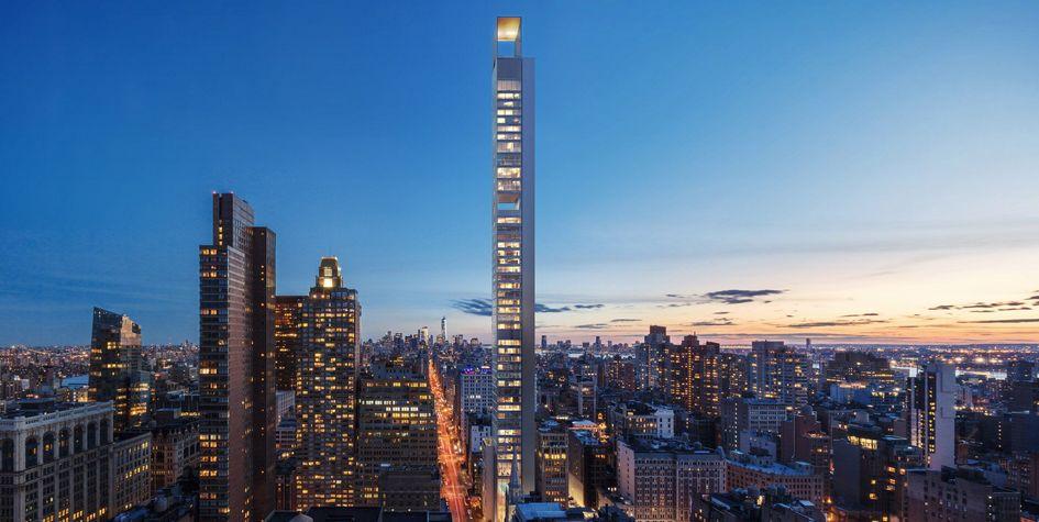 Визуализация возможного небоскреба наПятой авеню вНью-Йорке